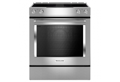 KitchenAid - KSEG950ESS - Slide-In Electric Ranges