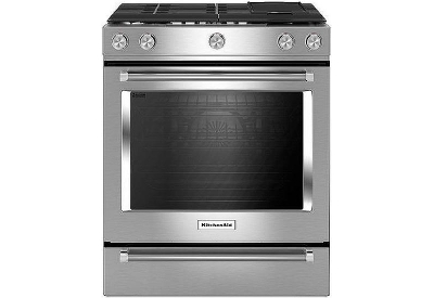 KitchenAid - KSGB900ESS - Slide-In Gas Ranges