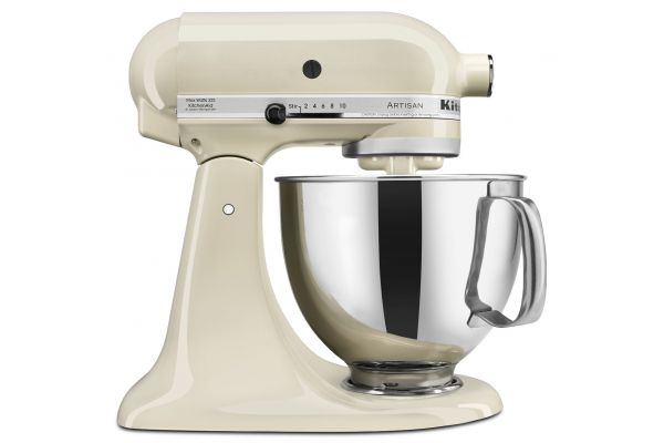 KitchenAid Artisan Almond Cream Stand Mixer - KSM150PSAC