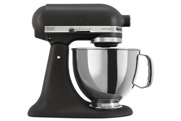 KitchenAid Artisan Imperial Black Stand Mixer - KSM150PSBK