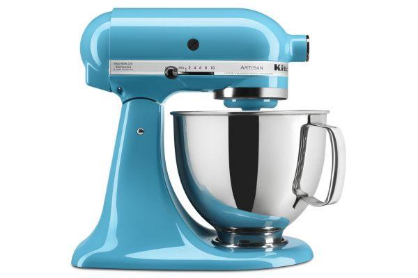 KitchenAid Artisan Crystal Blue 5-Quart Stand Mixer - KSM150PSCL