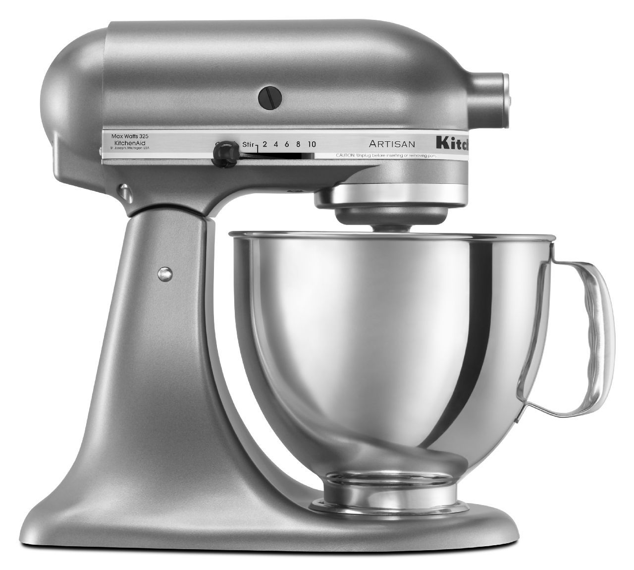 Kitchenaid Artisan Contour Silver Stand Mixer Ksm150pscu
