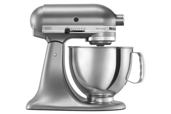 Large image of KitchenAid Artisan Contour Silver Stand Mixer - KSM150PSCU