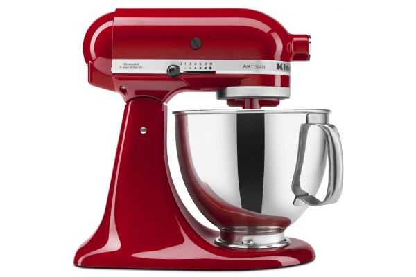 Large image of KitchenAid Artisan Empire Red Stand Mixer - KSM150PSER