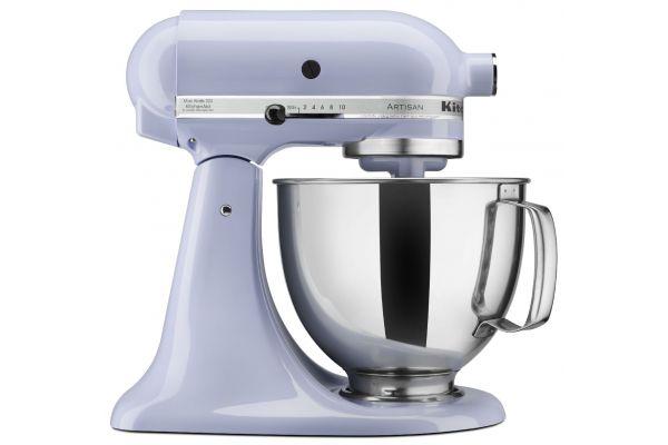 Large image of KitchenAid Artisan Series Lavender Stand Mixer - KSM150PSLR