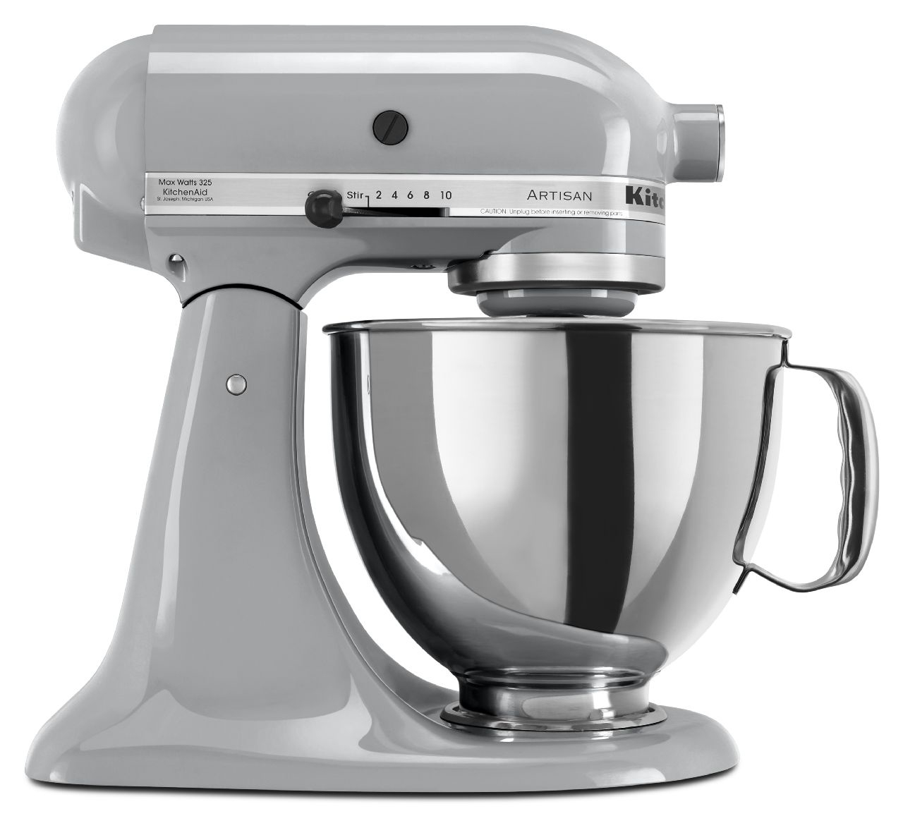 kitchenaid artisan mixer metallic chrome ksm150psmc. Black Bedroom Furniture Sets. Home Design Ideas