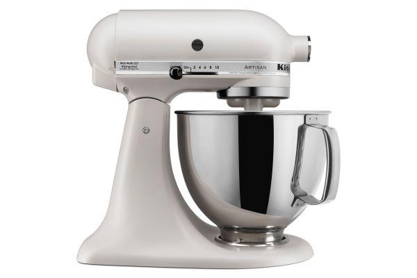 Large image of KitchenAid Artisan Series Matte Milkshake Stand Mixer - KSM150PSMH