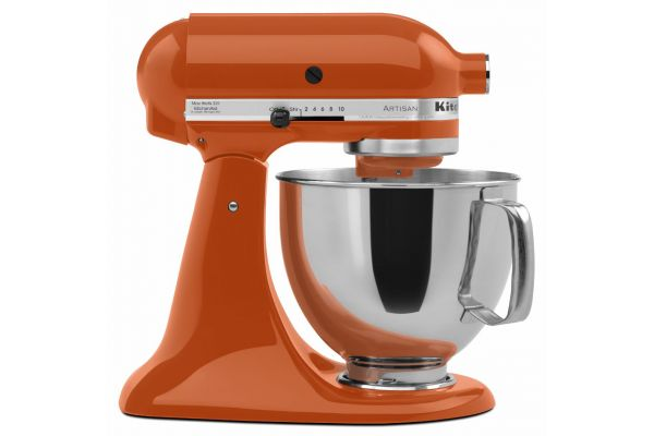 KitchenAid Artisan Series Persimmon Stand Mixer - KSM150PSPN