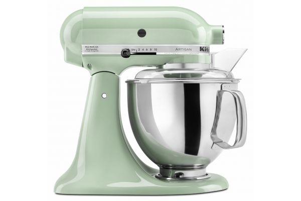 Large image of KitchenAid Artisan Stand Mixer Pistachio - KSM150PSPT