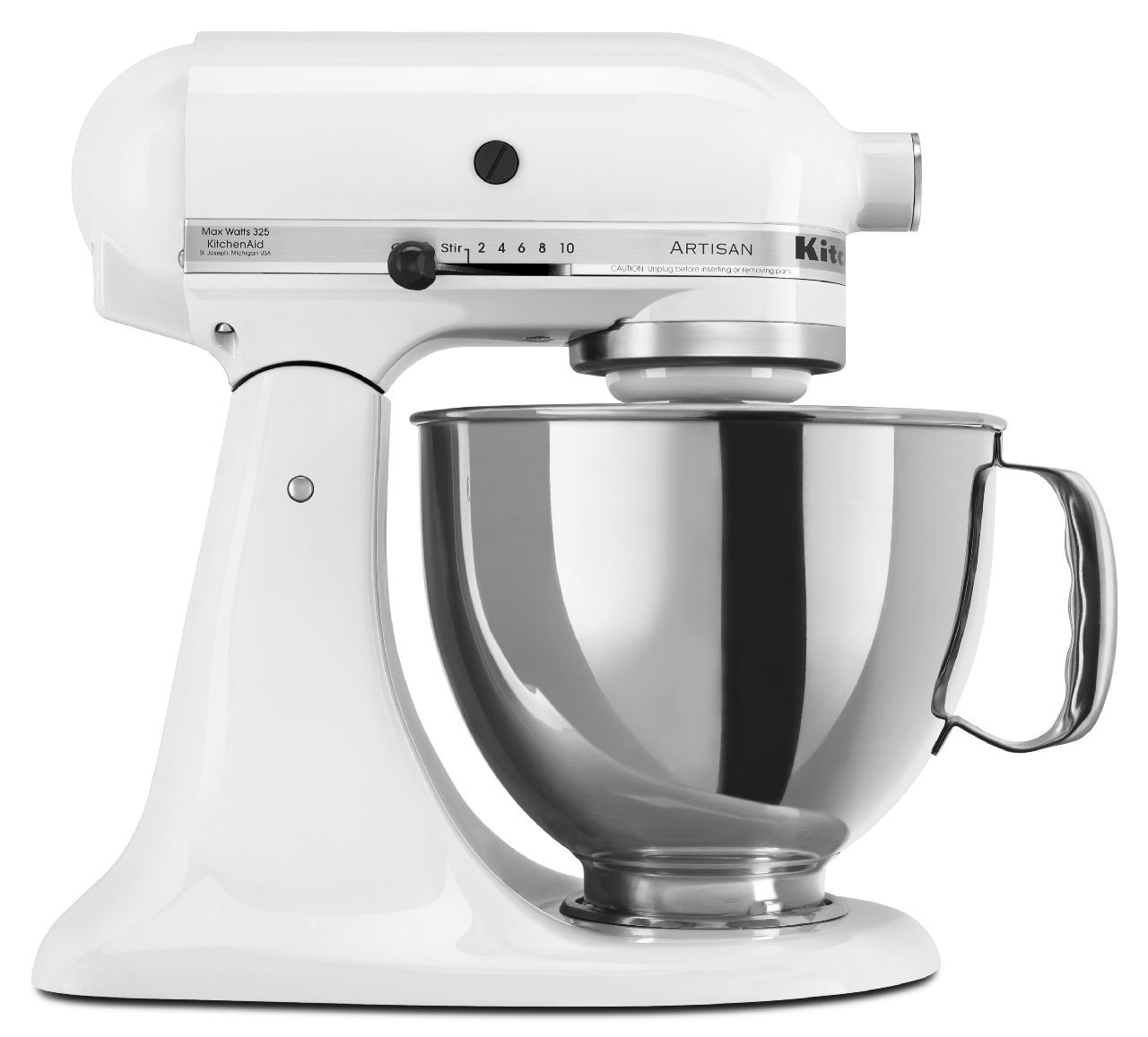 KitchenAid Artisan Series White Stand Mixer - KSM150PSWH on ice blue kitchenaid accessories, ice blue kitchenaid hand mixer, ice blue kitchenaid toaster,