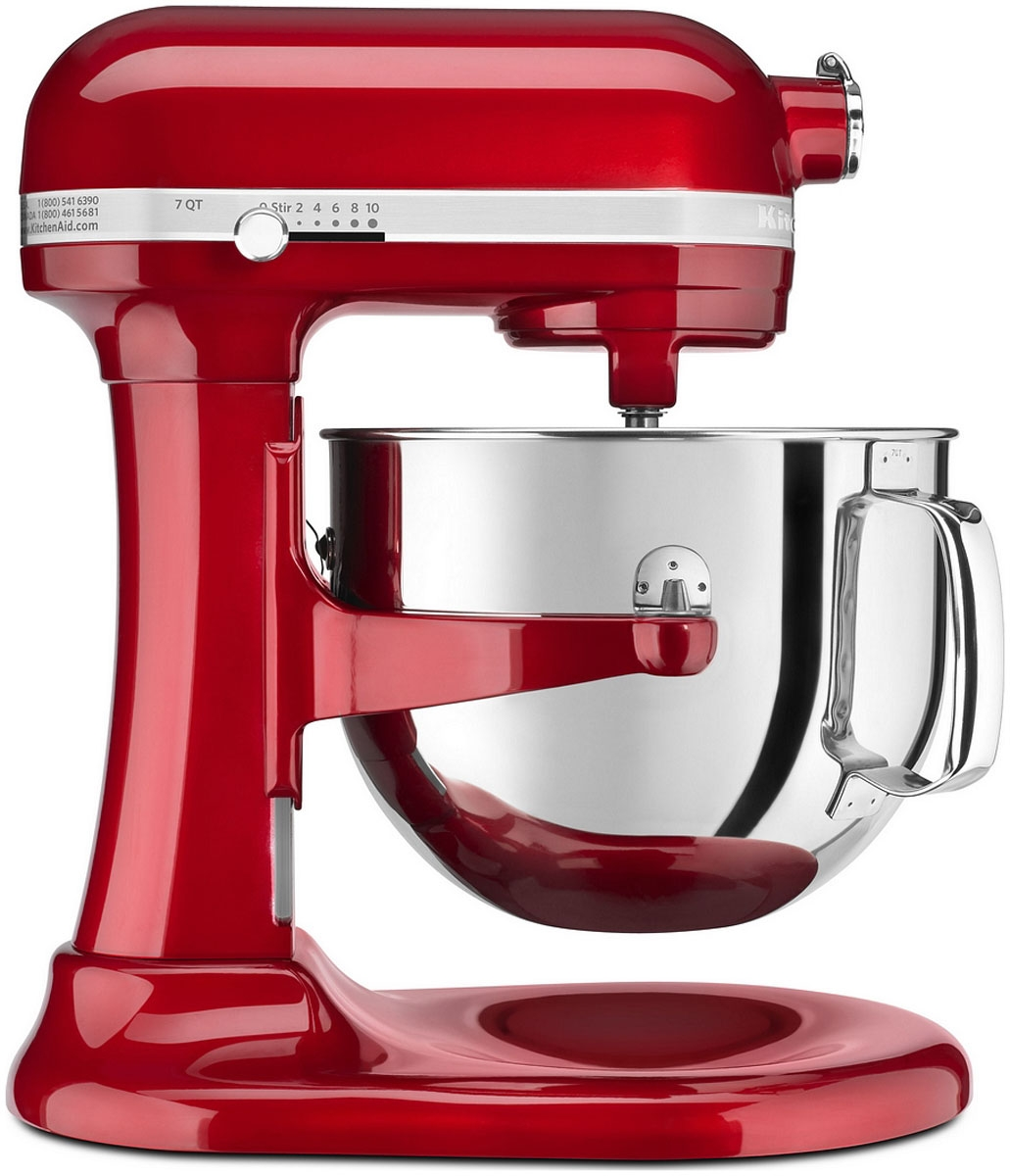 Kitchenaid Proline Bowl Lift Red Stand Mixer Ksm7586pca