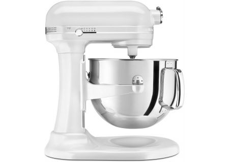 KitchenAid Proline Bowl Lift Frosted Pearl Stand Mixer - KSM7586PFP