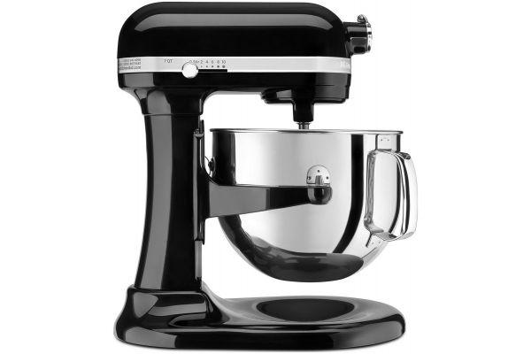 KitchenAid Bowl Lift Black Stand Mixer - KSM7586POB