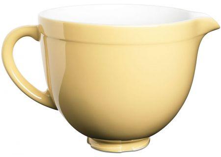 KitchenAid 5-Qt. Tilt-Head Majestic Yellow Ceramic Bowl - KSMCB5MY