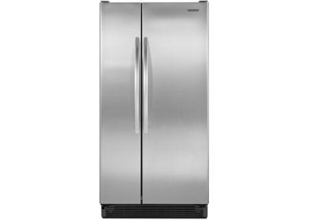 KitchenAid - KSRS25MWMS - Side-by-Side Refrigerators