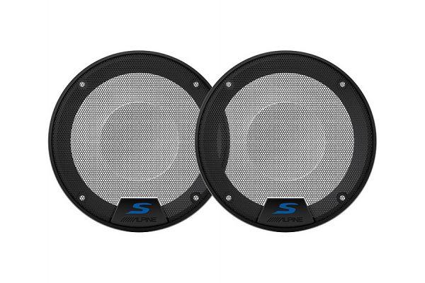 "Large image of Alpine 5.25"" S-Series Speaker Grilles - KTE-S50G"
