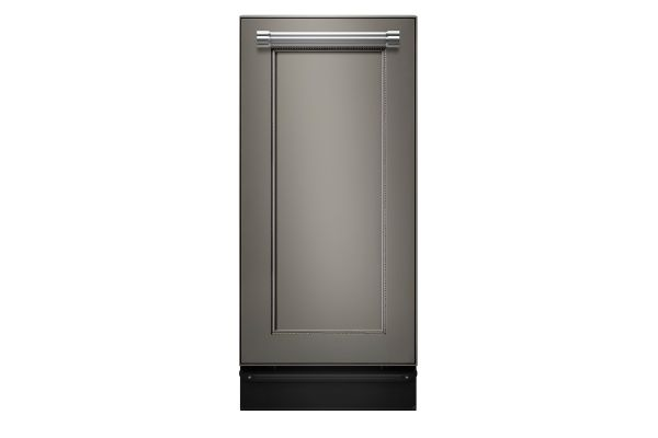 """Large image of KitchenAid 15"""" Integrated Panel Ready Built-In Trash Compactor - KTTS505EPA"""