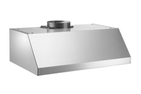 "Large image of Bertazzoni Professional Series 24"" Stainless Steel Undermount Canopy Hood  - KU24PRO1XV"