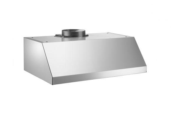 "Large image of Bertazzoni Professional Series 30"" Stainless Steel Undermount Canopy Wall Hood  - KU30PRO1XV"