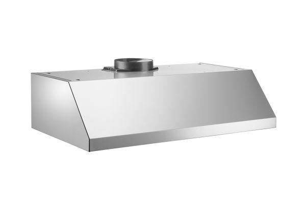"Large image of Bertazzoni Professional Series 36"" Stainless Steel Undermount Canopy Hood - KU36PRO1XV"