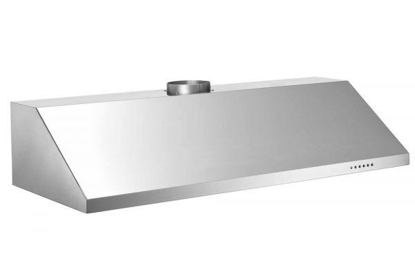 "Large image of Bertazzoni Professional Series 48"" Stainless Steel Undermount Canopy Hood  - KU48PRO1X/14"