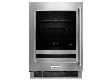 KitchenAid - KUBL304ESS - Wine Refrigerators and Beverage Centers