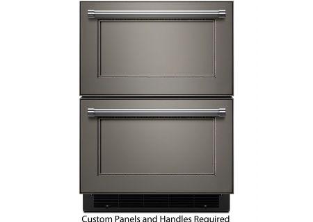 "KitchenAid 24"" Panel Ready Refrigerator/Freezer Drawer - KUDF204EPA"