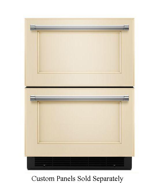 "Kitchenaid Refrigerator Drawers: KitchenAid 24"" Double Refrigerator Drawer"
