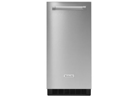 "KitchenAid 15"" Stainless Steel Automatic Ice Maker - KUIX305ESS"