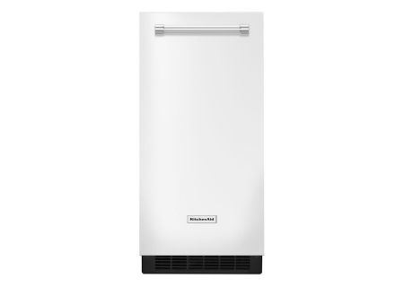 "KitchenAid 15"" White Automatic Ice Maker - KUIX305EWH"