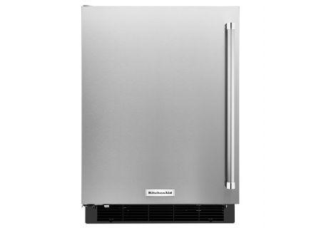 "KitchenAid 24"" Stainless Steel Undercounter Refrigerator - KURL104ESB"