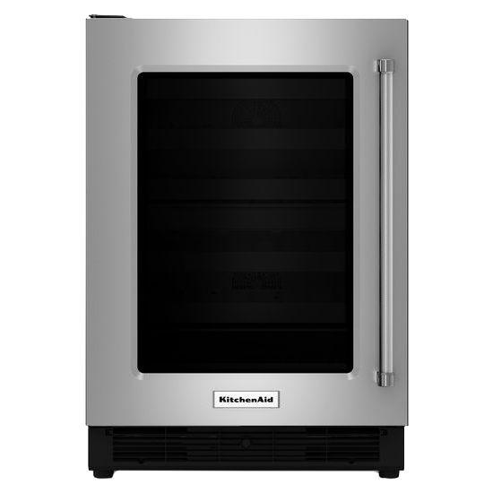 Kitchenaid 24 Quot Undercounter Refrigerator Kurl204esb
