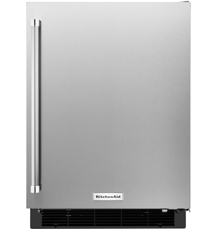 Kitchenaid 24 Undercounter Refrigerator Kurr104esb