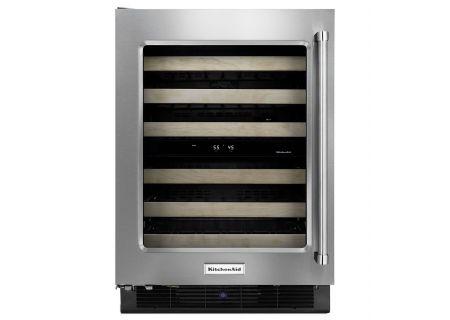 KitchenAid - KUWL204ESB - Wine Refrigerators and Beverage Centers