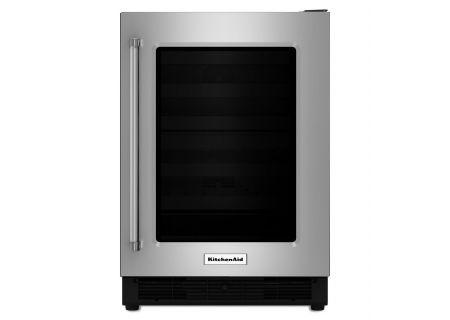 KitchenAid - KUWR204ESB - Wine Refrigerators and Beverage Centers