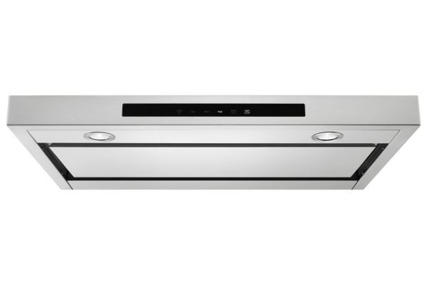 """Large image of KitchenAid 36"""" Stainless Steel Low Profile Under-Cabinet Ventilation Hood - KVUB406GSS"""