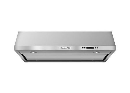 "KitchenAid 36"" Stainless Steel Under-The-Cabinet Wall Hood - KVUB606DSS"
