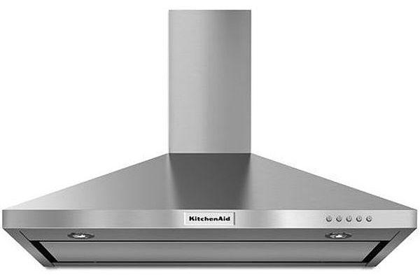 "KitchenAid 36"" Stainless Steel Wall-Mount Canopy Hood - KVWB406DSS"