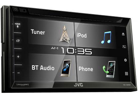 JVC Double DIN Multimedia Car Stereo - KW-V340BT