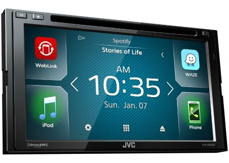 JVC - KW-V640BT - Car Stereos - Double DIN