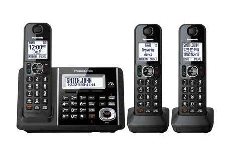 Panasonic - KX-TGF343B - Cordless Phones