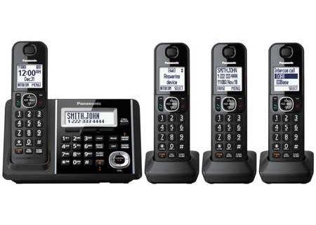 Panasonic - KX-TGF344B - Cordless Phones