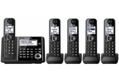 Panasonic - KX-TGF345B - Cordless Phones