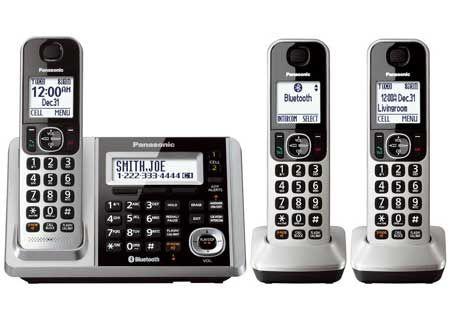 Panasonic - KX-TGF373S - Cordless Phones