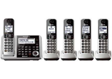 Panasonic - KX-TGF375S - Cordless Phones