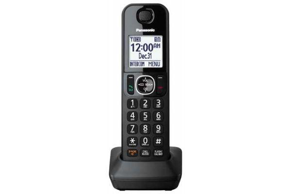Panasonic Black Expandable Handset Cordless Phone - KX-TGFA30B