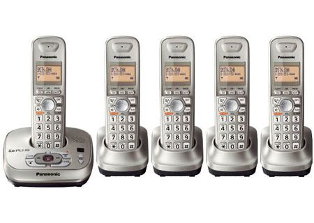 Panasonic - KXTG4025N - Cordless Phones