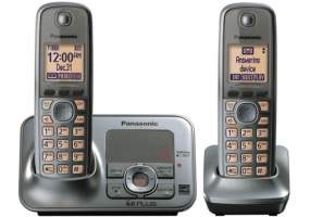 Panasonic - KX-TG4132M - Cordless Phones