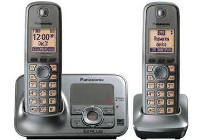 Panasonic - KX-TG4132M - Cordless Phones with Answering Machines