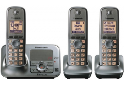Panasonic - KX-TG4133M  - Cordless Phones with Answering Machines